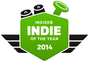 IndieDB Indie Game of The Year 2014